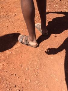 Ore's Dry Feet